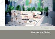 Lebens- und Lernraum Schule Pädagogische Architektur Lebens ...