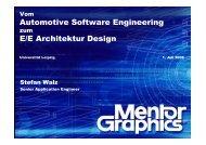 Automotive Software Engineering E/E Architektur Design