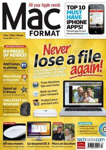 Mac Format - 2010-218