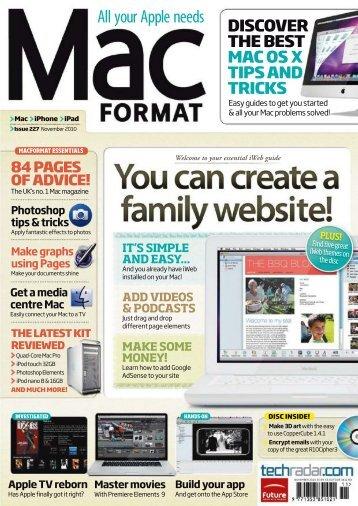 Mac Format - 2010-227