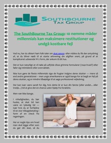 The SouthBourne Tax Group 10 nemme måder millennials kan maksimere restitutioner og undgå kostbare fejl