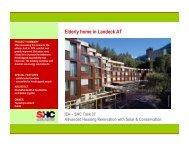 Austria - Home for Elderly in Landeck - Solar Thermal   IEA-SHC
