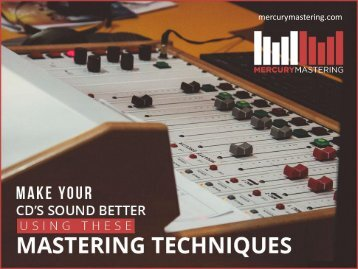 Professional Audio Mastering Techniques