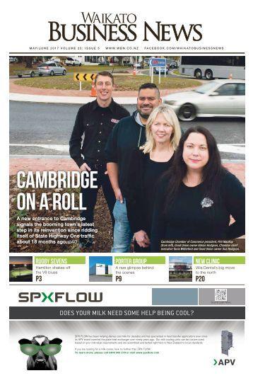 Waikato Business News May/June 2017