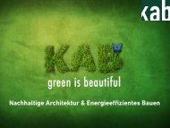 Nachhaltige Architektur & Energieeffizientes Bauen - kab Architekten