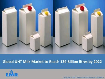 Global UHT Milk Market 2017-2022 | Share, Size, Industry Report and Outlook