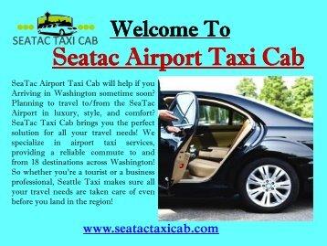 Taxi Cab in Tacoma