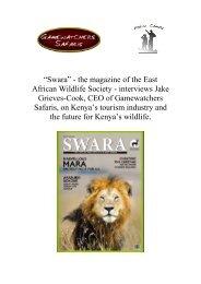 Swara Magazine Feature
