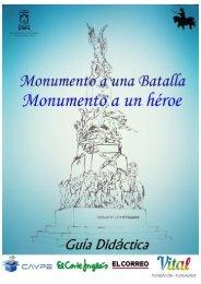 Guía Didáctica. Monumento a la Batalla de Vitoria