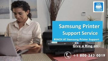 Samsung Printer Support Phone Number +1-800-243-0019 for Help