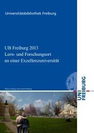 Lern - Universitätsbibliothek Freiburg - Albert-Ludwigs-Universität ...