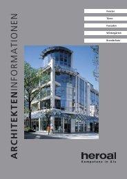 ProfilSerie 070 - ISO-Fensterbau GmbH