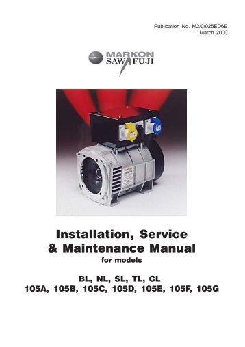 john deere ul 150 kw diesel generator specs hardy diesels and rh yumpu com Operation and Maintenance Manual Folder General Contractor Operations and Maintenance Manual