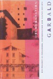 Projekt Garbald – Die Villa Garbald als Smart House