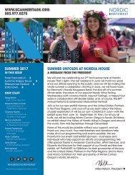 Summer Newsletter 2017