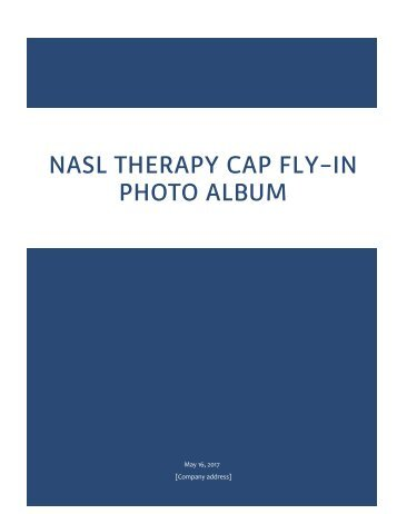 NASL Therapy Cap Fly-In Photo Album