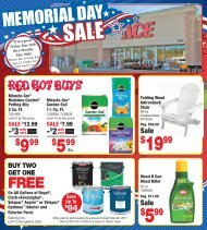 Ace Hardware Memorial Day Sale