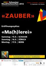 herunterladen - Alumni Sinfonie-Orchester Uni Bern