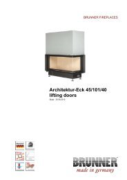 Architektur-Eck 45/101/40 lifting doors made in germany - Krby Style