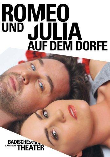 romeo und julia auf dem dorfe - Badisches Staatstheater - Karlsruhe