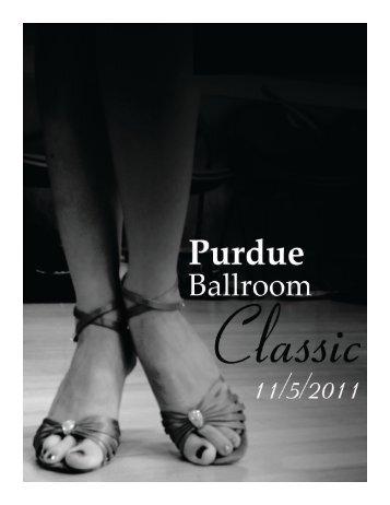 The full program program2011.pdf - Purdue Latin & Ballroom Dance ...