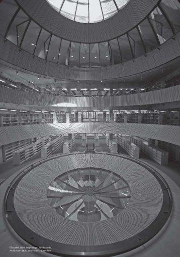 Bibliothek WUR, Wageningen, Niederlande. Architekten ... - RANDI