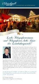 24. NOVEMBER – 24. DEZEMBER 1. DEZEMBER – 23 ... - Klagenfurt - Seite 2