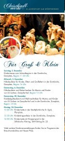 24. NOVEMBER – 24. DEZEMBER 1. DEZEMBER – 23 ... - Klagenfurt - Seite 4