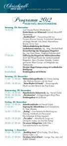 24. NOVEMBER – 24. DEZEMBER 1. DEZEMBER – 23 ... - Klagenfurt - Seite 6