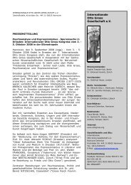 Internationale Otto Gross Gesellschaft e.V. - Who was Otto Gross?