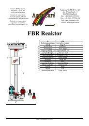 FBR Reaktor - AquaCare GmbH & Co. KG