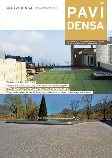aktuelle Ausgabe 1-12 - Pavidensa