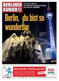 Mediawerbung auf den Punkt. Wir sind Berlin. - Berliner Kurier