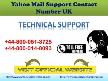 how to email yahoo support