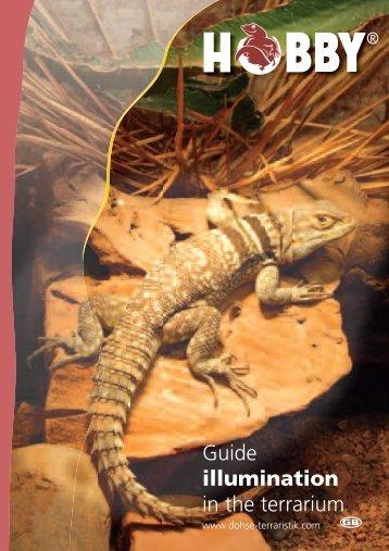 Guide illumination in the terrarium - Dohse Aquaristik KG
