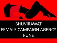 BHUVIRAWAT- PROFESSIONAL FEMALE CAMPAIGN SERVICES