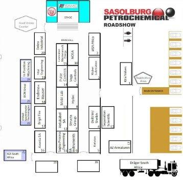 Sasolburg Roadshow Floor plan