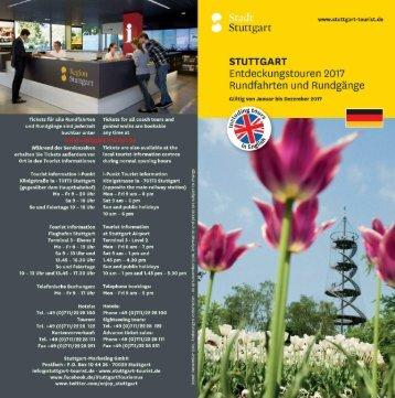 Entdeckungstouren Stuttgart 2017 - Rundfahrte & Rundgänge
