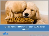 Dog Food Market 2017 To 2022 – Industry Analysis, Share, Size, Growth, Trends and Forecasts