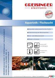 Aquaristik / Fischzucht - Greisinger electronic GmbH