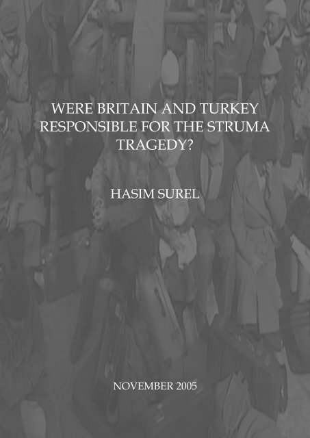 were britain and turkey responsible for the struma ... - Haruth.Com