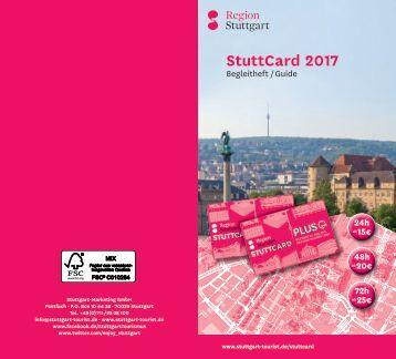 StuttCard 2017 - Leistungen