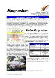 Turbo-Magnesium - AquaCare GmbH & Co. KG