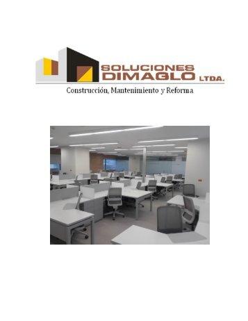 PORTAFOLIO DE PRODUCTOS Y SERVICIOS DIMAGLO 2017