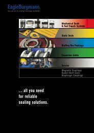 .. all you need for reliable sealing solutions - Filter