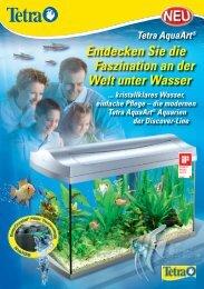 Entdecken Sie die Faszination an der Welt unter Wasser - Tetra GmbH