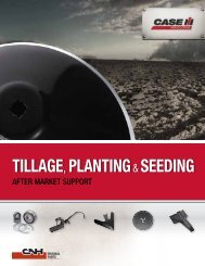 Tillage Planting Seeding - Inspect & Protect