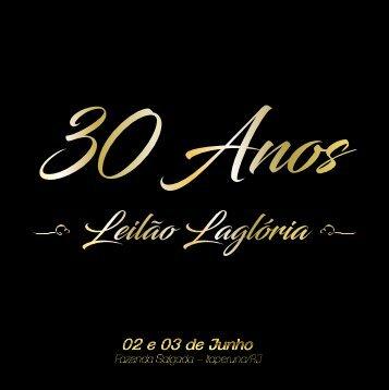 SAIDA BAIXA Leilão 30 anos Lagloria - FINAL