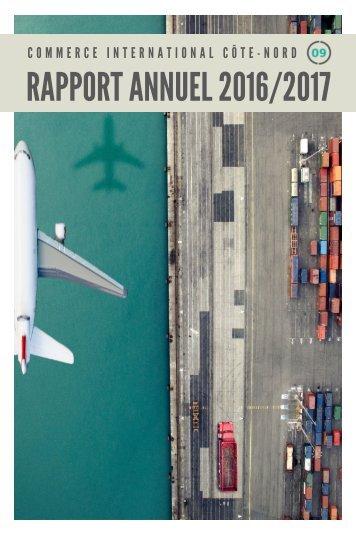 CICN-Rapport annuel 2016-2017