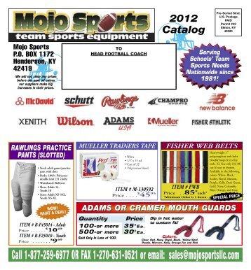Mojo Sports, Team Sports Equipment